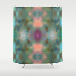 Abstract Dream - Dots Shower Curtain