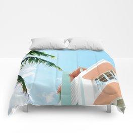 Miami Fresh Summer Day Comforters