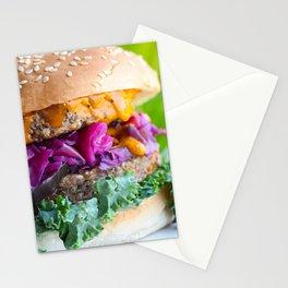 Veggie Burger Stationery Cards