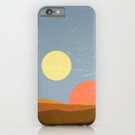 Desert Morning - Tatooine Edition iPhone Case