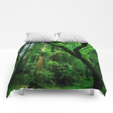 Enchanted forest mood II Comforters