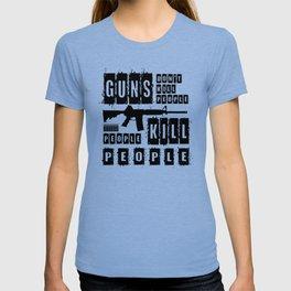 Guns Don't Kill People People Kill People T-shirt