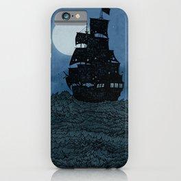 Moonlit Pirates iPhone Case