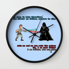 You Killed My Father Wall Clock