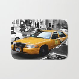 NYC Yellow Cabs Avenue - USA Bath Mat
