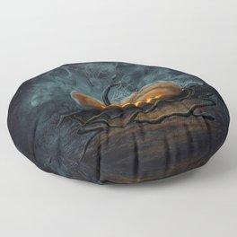 Halloween Pumpkin Floor Pillow