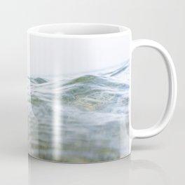 Rippling sea swell, Porthcurno, Cornwall Coffee Mug