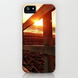 "Redondo Beach ""Life Guard Tower 2"" iPhone Case"