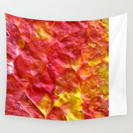 Fire Spiral Wall Tapestry