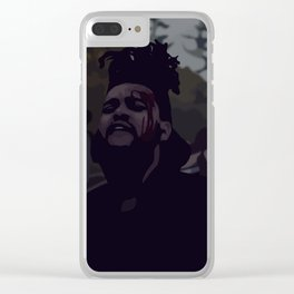 Half Past 5 Clear iPhone Case
