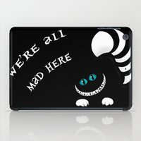 cheshire iPad Cases featuring Cheshire Grin by Sherry Yuan