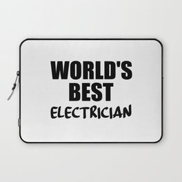 electrician best in the world Laptop Sleeve