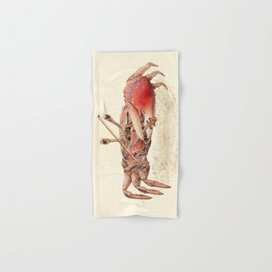 Fiddler Crab Hand & Bath Towel