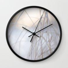Beautiful Winter Morning Wall Clock