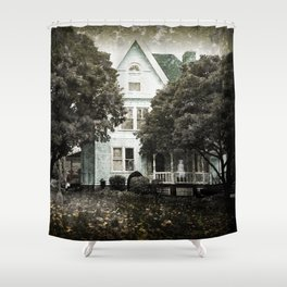 Haunted Hauntings Series - House Number 3 Shower Curtain