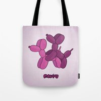 floyd Tote Bags featuring Floyd Balloons by Elle Moz