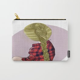 Plaids and Plaits Carry-All Pouch
