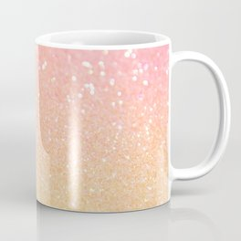 Glitter Pink Gold Mint Sparkle Ombre Coffee Mug