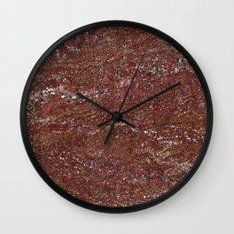 Granite Pattern 3 Wall Clock