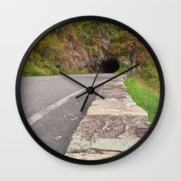 Shenandoah Skyline Tunnel Drive Wall Clock