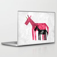 mom Laptop & iPad Skins featuring Thanks Mom by That's So Unicorny