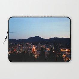 Eugene Oregon from Skinner Butte Laptop Sleeve