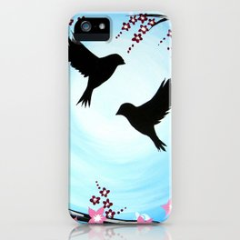 Cherry Blossom Dream iPhone Case