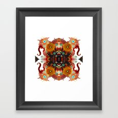 Lucid Loon Innovate Framed Art Print
