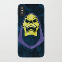 skeletor iPhone & iPod Cases featuring Skeletor by Some_Designs