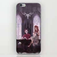 the office iPhone & iPod Skins featuring Hades' Office by elvishness