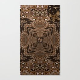 Sequential Baseline Tunnel 3 Canvas Print