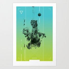 Getting Stronger. Art Print