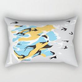 I'm like a bird Rectangular Pillow