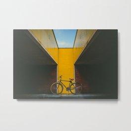 Bike Noord Amsterdam Metal Print