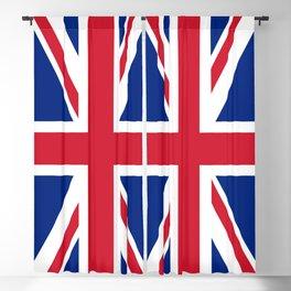 UK FLAG - Union Jack Authentic Blackout Curtain