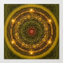 Happiness Mandala Canvas Print