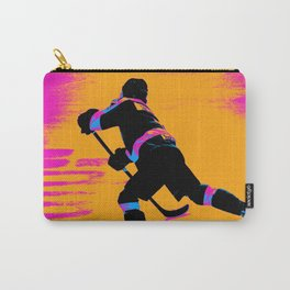 He Shoots! - Hockey Player Carry-All Pouch