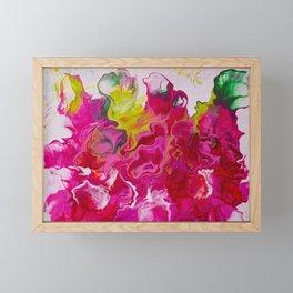 Inviting iris Framed Mini Art Print