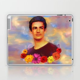 Barry with Flowers Laptop & iPad Skin