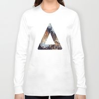 bastille Long Sleeve T-shirts featuring Bastille (light) by syrup