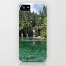 A Beautiful Day at Hanging Lake iPhone Case
