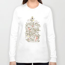 Bad Tempered Rodents Long Sleeve T-shirt