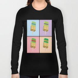 Ninja Turtles Ice Pop Art Long Sleeve T-shirt