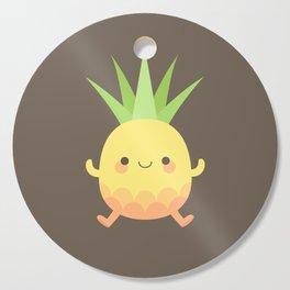 Happy pineapple kids Cutting Board