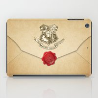 quidditch iPad Cases featuring HARRY POTTER ENVELOPE by Sophie