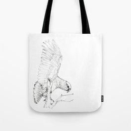Black Kea Tote Bag