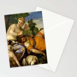 "Veronese (Paolo Caliari) ""Venus and Adonis"" Stationery Cards"
