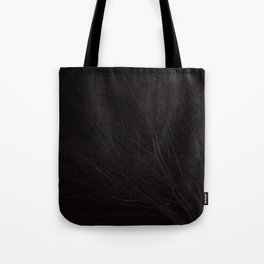 Into the Darkness of Winter Tote Bag