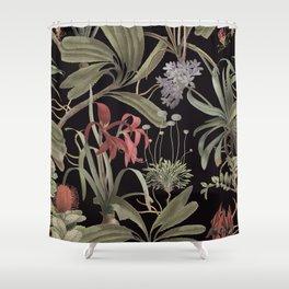 Dark Botanicals (pillow variant) Shower Curtain