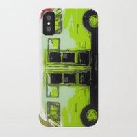 van iPhone & iPod Cases featuring Van by Gabriel Prusmack and Sophia Buddenhagen